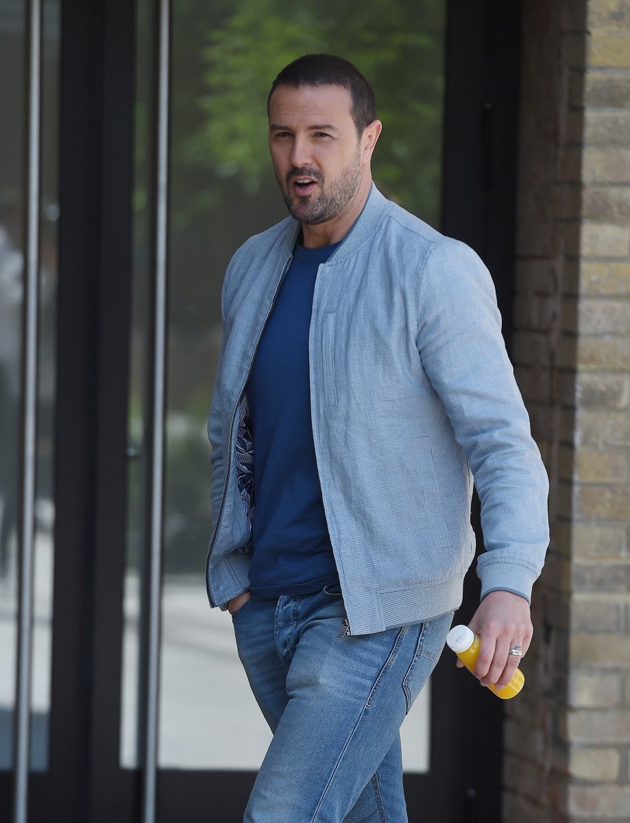 Paddy McGuinness Arrives At BBC White City In London