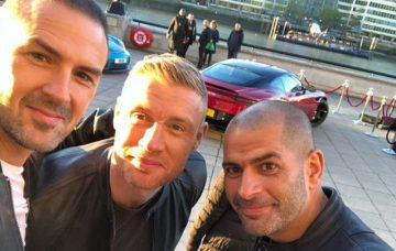 Paddy McGuinness and Freddie Flintoff