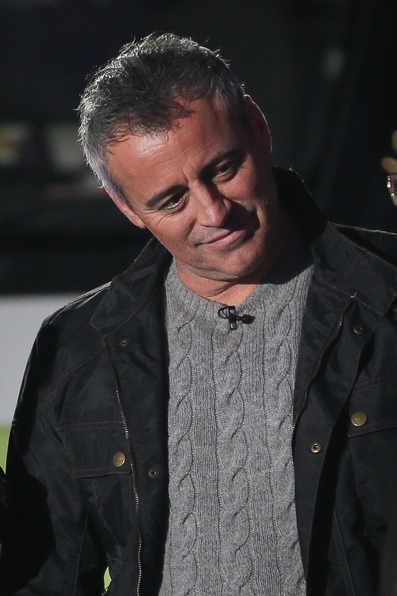Top Gear Presenter Matt LeBlanc promoting his new TV Series 'Top Gear' on BBC The One Show - London