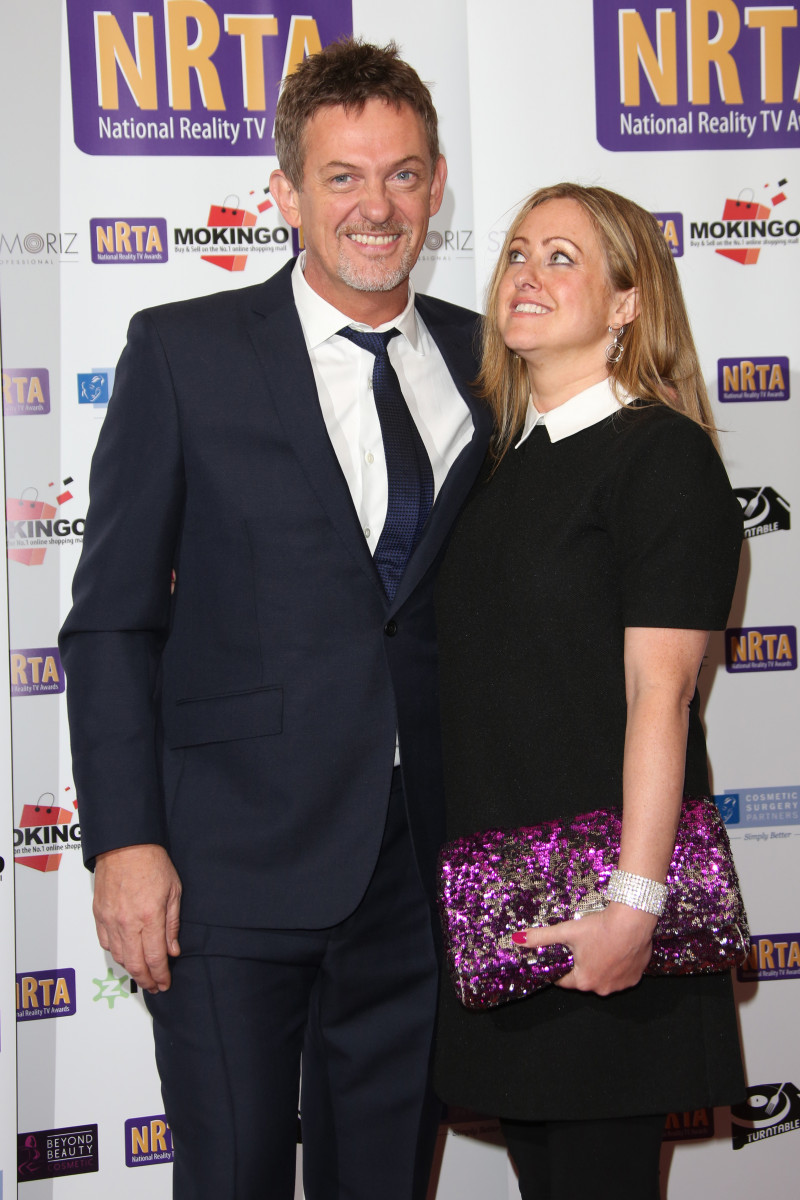 Matthew Wright and his wife Amelia at The National Reality TV Awards (NRTA) 2015