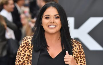 Scarlett Moffatt attends the World Premiere of 'King Of Thieves' at Vue West End