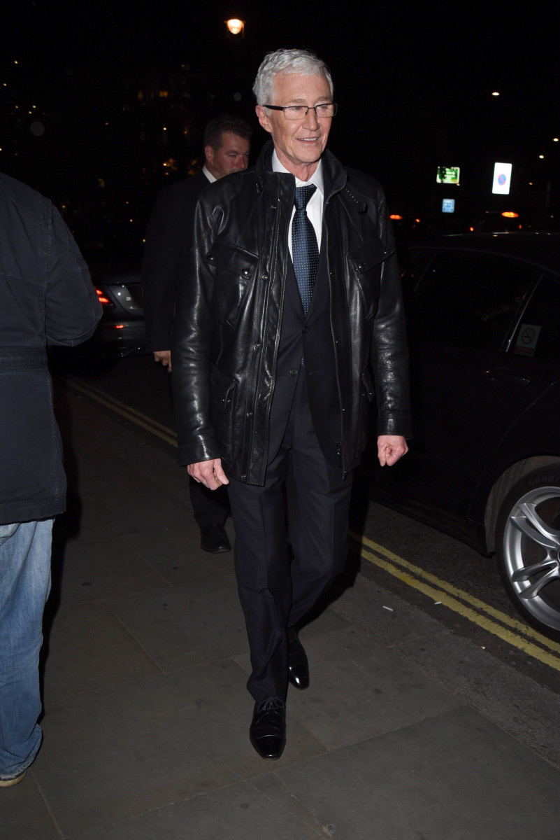 Paul O'Grady, Stars Leave The NHS Heroes Awards In London