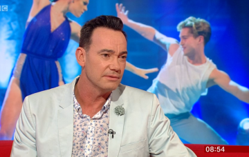 Craig Revel Horwood on BBC Breakfast