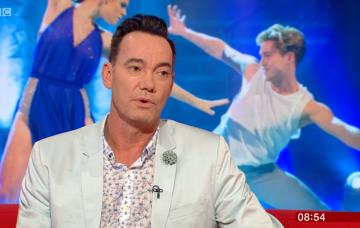 Craig Revel Horwood on BBC Breakfast