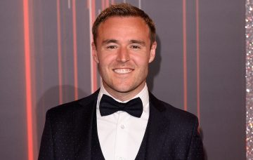 Alan Halsall attends The British Soap Awards at The Lowry Theatre