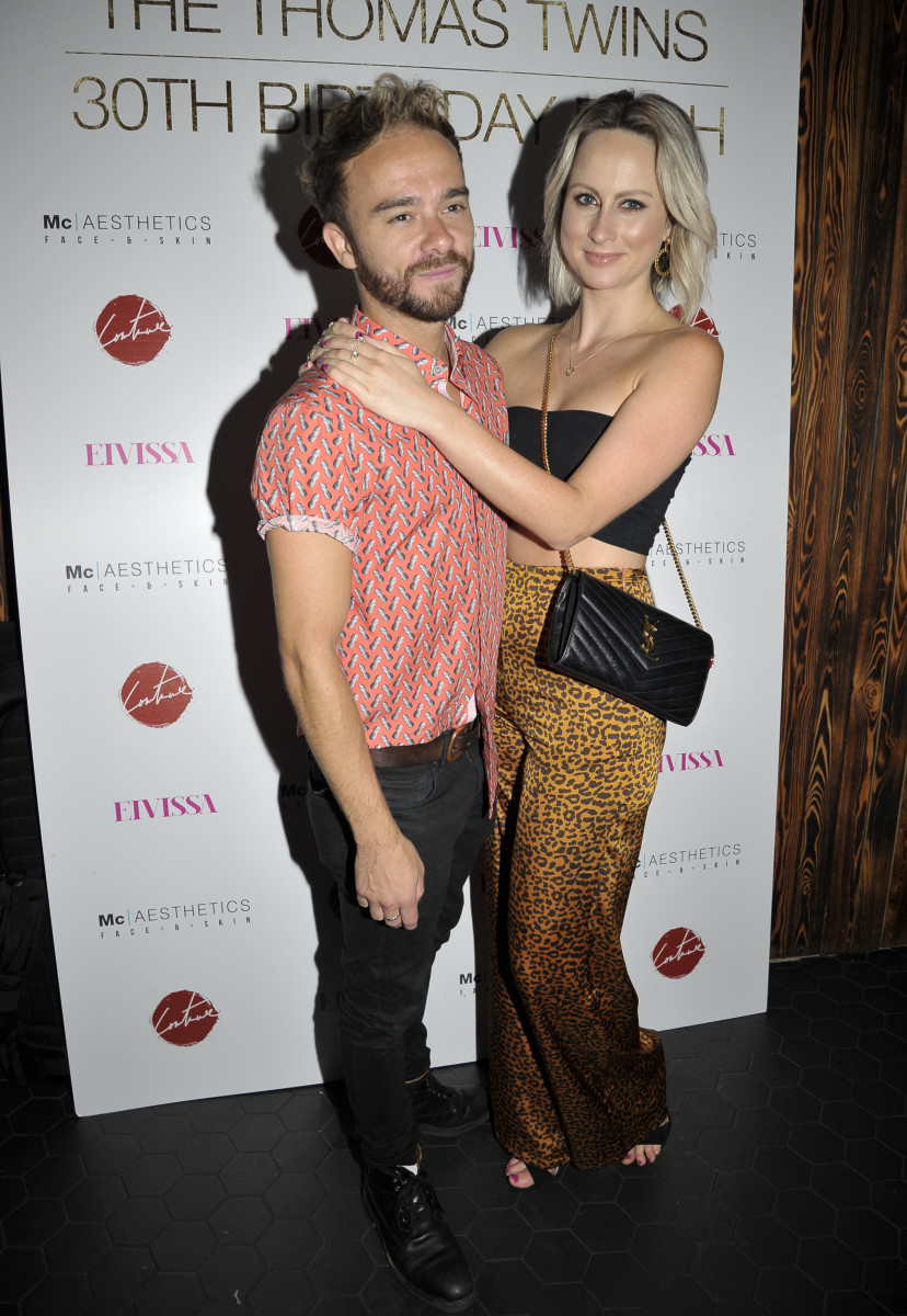 Jack P Shepherd, Celebs Arrive At The Impossible Bar For Adam And Scott Thomas 30th Birthday Party In Manchester
