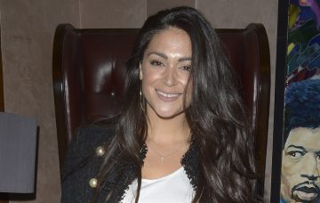 Casey Batchelor attends the launch of Sam Dowler's debut book 'The Insider' at the Sanctum Soho Hotel in London