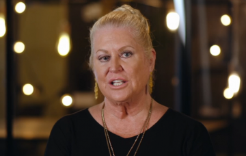 Kim Woodburn on Celebrity Call Centre