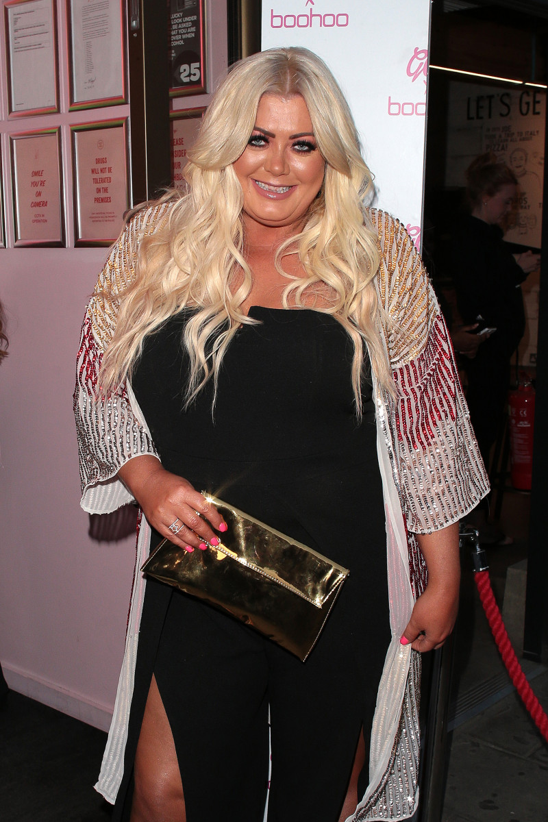 Gemma Collins seen attending GC x Bohoo party at Tonight Josephine