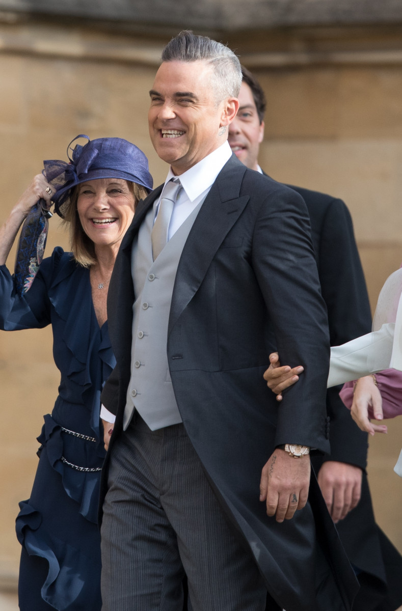 Robbie Williams, The Royal Wedding of Princess Eugenie to Jack Brooksbank in Windsor