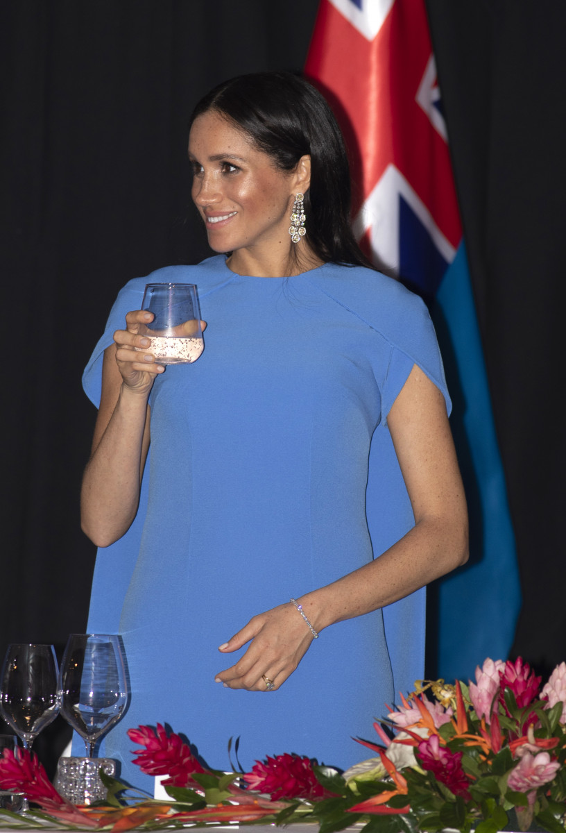 Prince Harry, the Duke of Sussex and Meghan, the Duchess of Sussex attend a reception and a State Dinner hosted by The President of Fiji