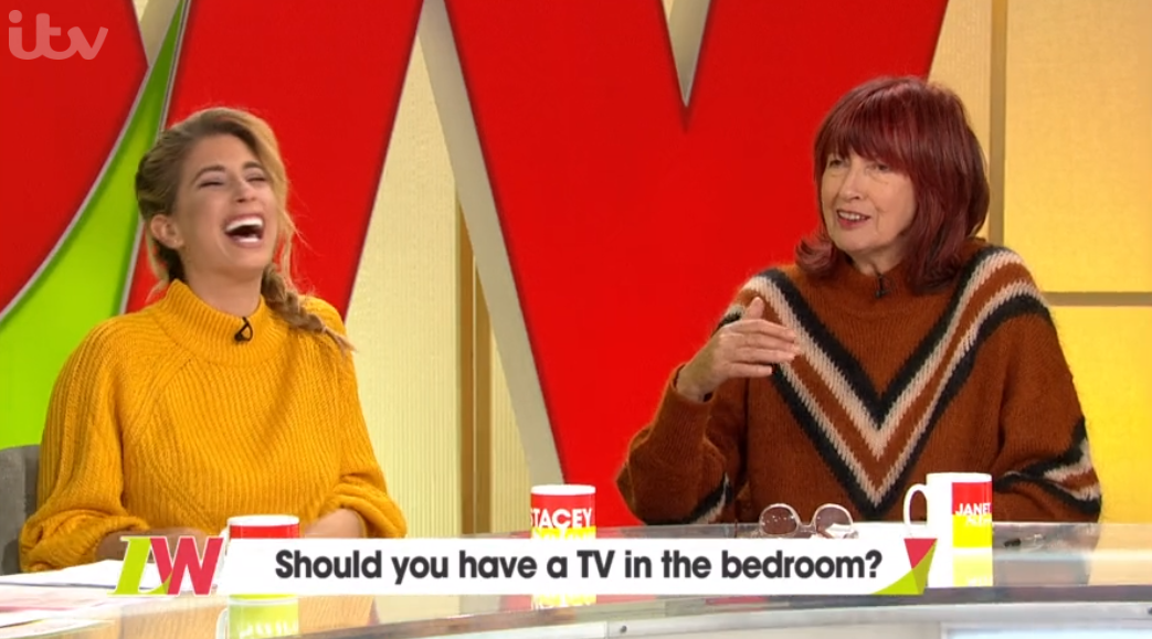 Stacey Solomon and Janet Street Porter on Loose Women