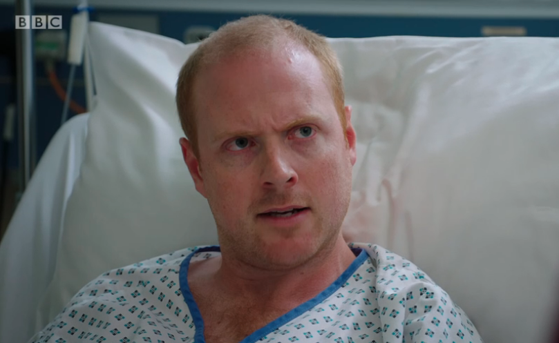 Charlie Clements in Holby City