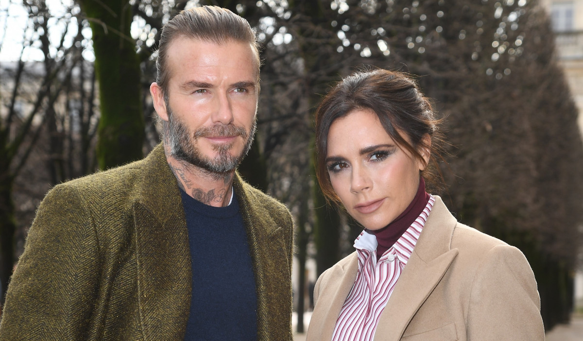 David and Victoria Beckham celebrate New Year with extravagant family party