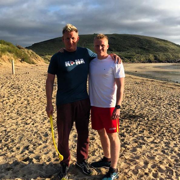 Gordon Ramsay and son Jack Ramsay
