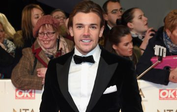 Nathan Massey attends the National Television Awards