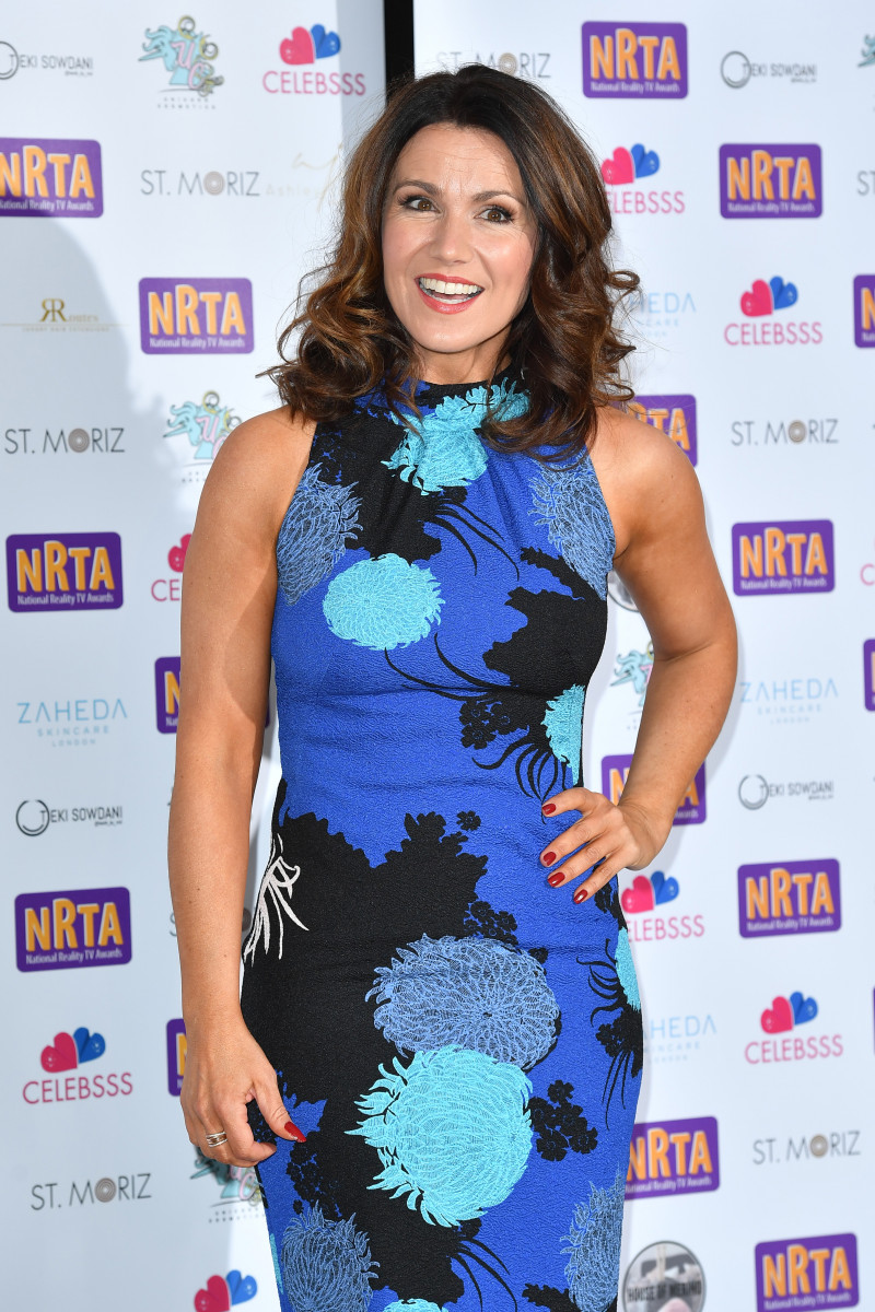 Susanna Reid attends the National Reality TV Awards held at Porchester Hall