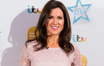 Susanna Reid attends the Good Morning Britain Health Star Awards at the Rosewood Hotel in 2017