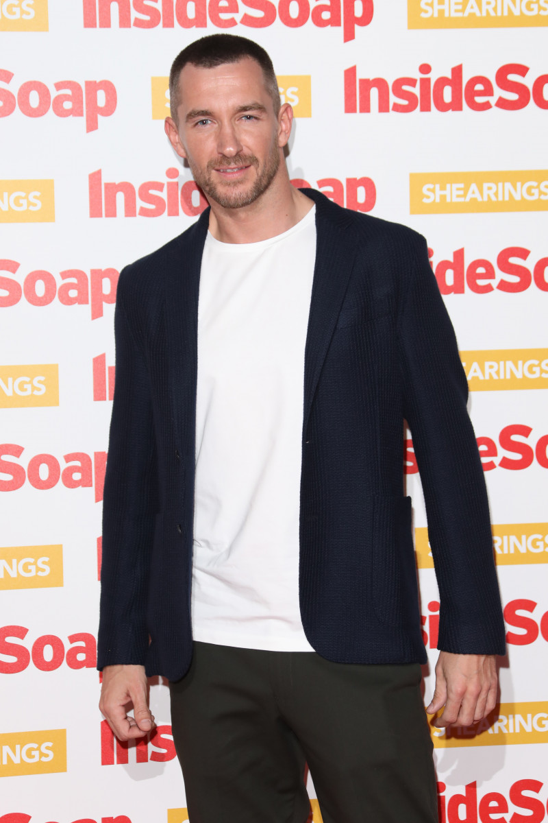 Anthony Quinlan, The Inside Soap Awards 2018 - Arrivals