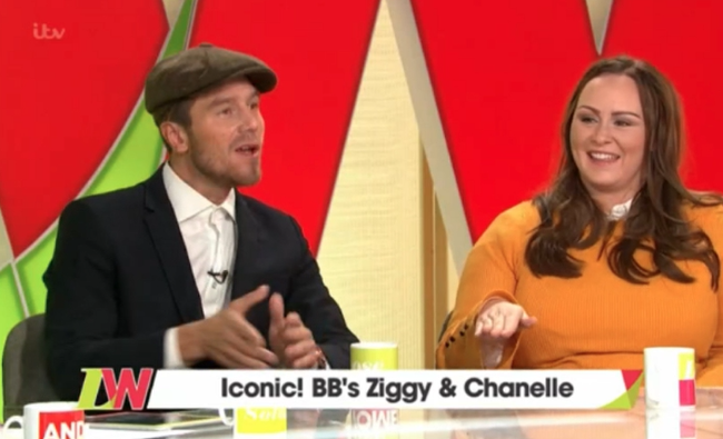 Iconic Big Brother couple Chanelle and Ziggy reunited on Loose Women