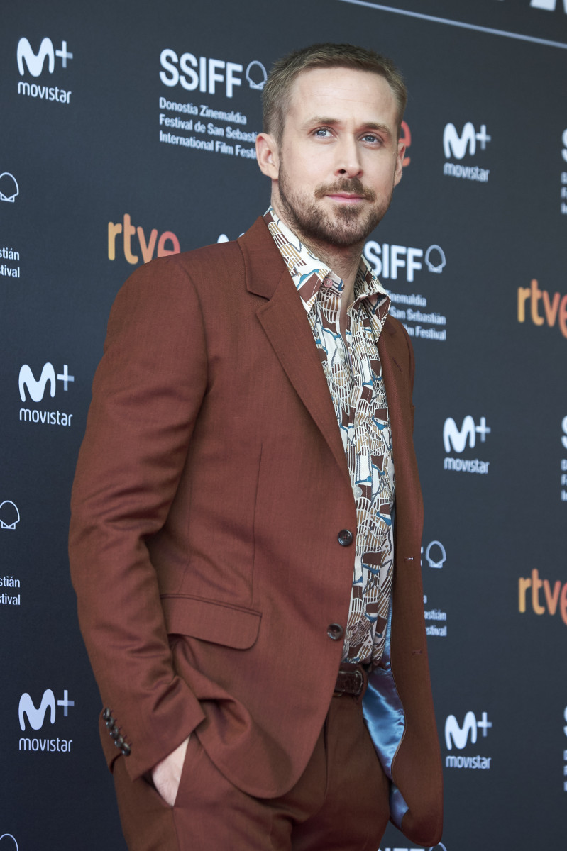 Ryan Gosling attends 'First Man' premiere during 66th San Sebastian Film Festival