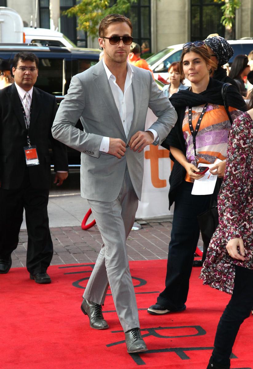 Actor Ryan Gosling attends 'Blue Valentine' Premiere during the 35th Toronto International Film Festival