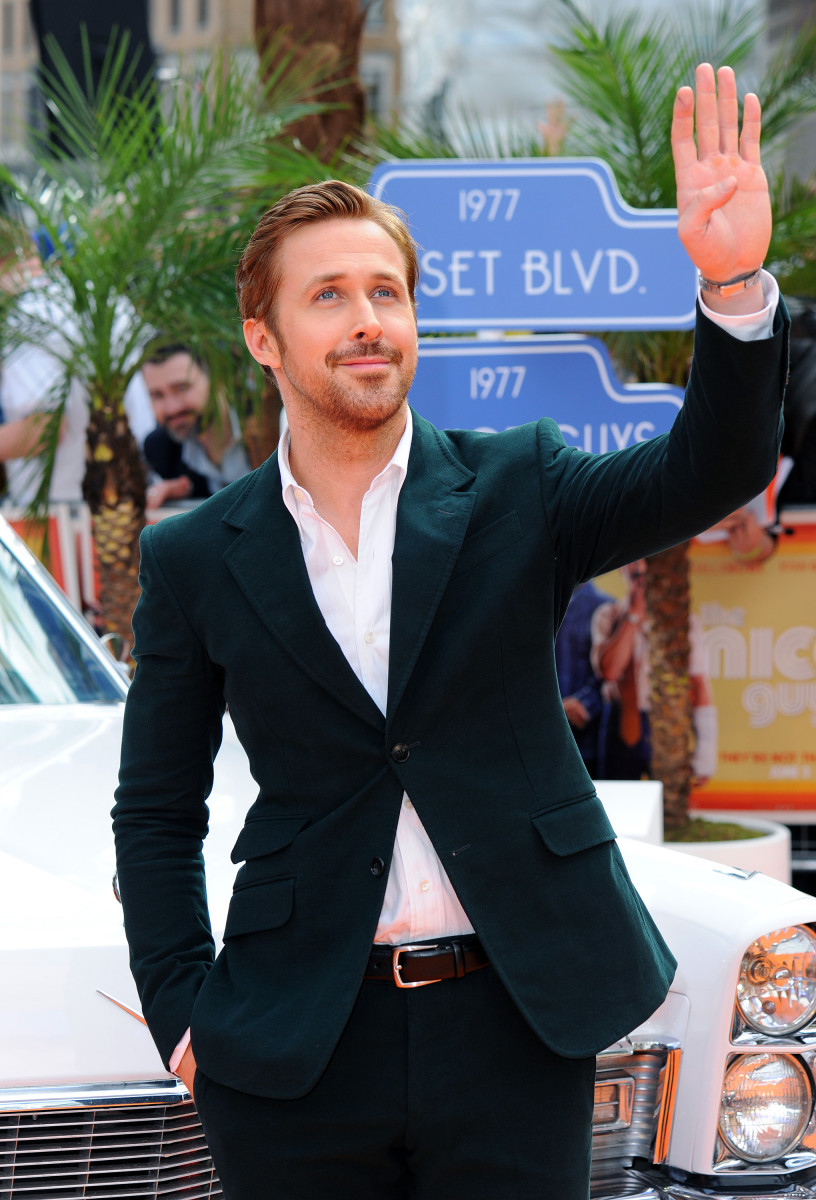 Ryan Gosling attends the 'The Nice Guys' UK Premiere at Odeon Leicester Square