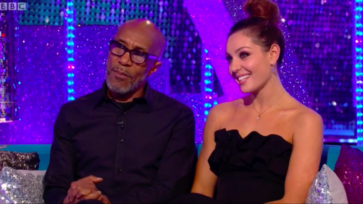 strictly come dancing Danny John-Jules take two amy