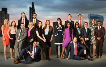 The cast of The Apprentice 2017
