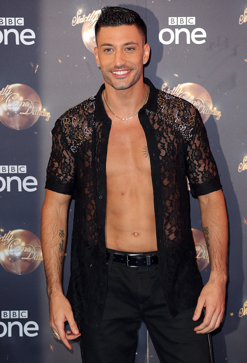 Giovanni Pernice at the Strictly Come Dancing 2018 - Launch Show