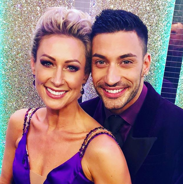 Faye Tozer and Giovanni Pernice on Strictly