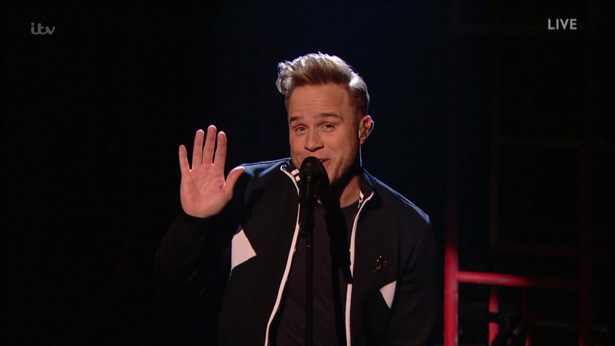 Olly Murs X Factor WENN