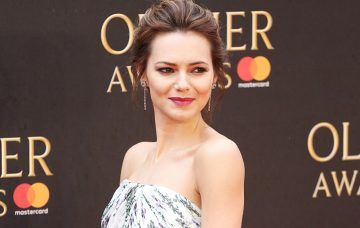Kara Tointon, The Olivier Awards 2018, Royal Albert Hall, London UK, 08 April 2018, Photo by Brett D. Cove