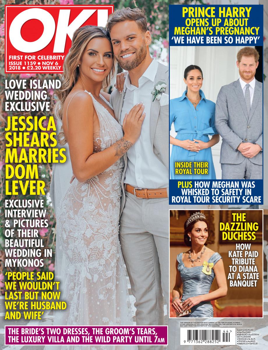 OK! Magazine cover, October 29, 2018