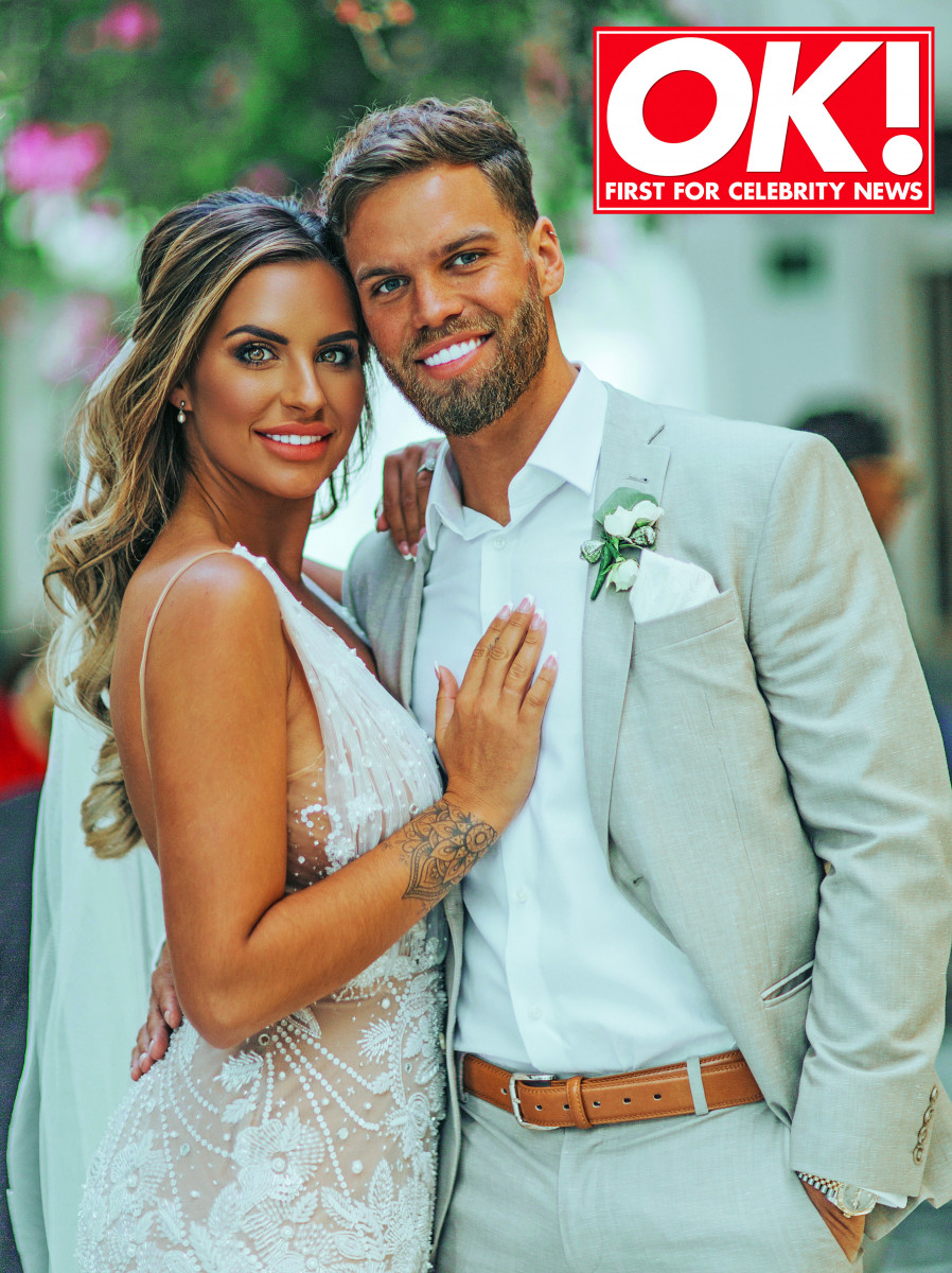 ONE USE ONLY: Love Island's Jess Shears and Dom Lever marry - OK! Magazine