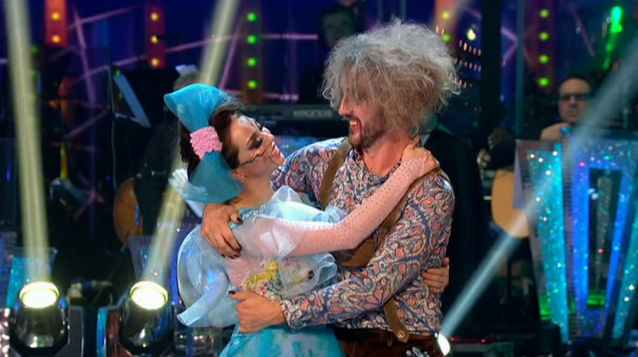 Seann and Katya on Strictly