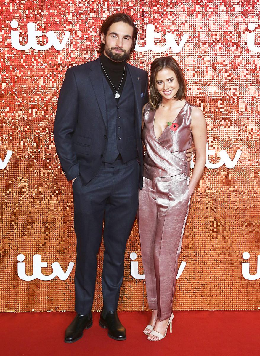 Jamie Jewitt and Camilla Thurlow, The ITV Gala 2017, London Palladium, London UK, 09 November 2017, Photo by Brett D. Cove