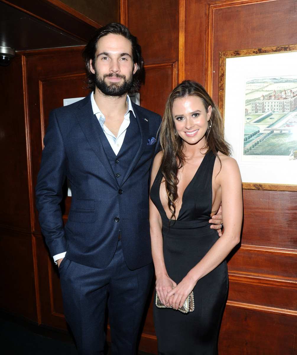 Camilla Thurlow and Jamie Jewitt, Celebrities Arrive At The International Day Of The Girl Charity Gala In London