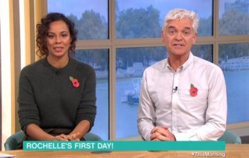 Rochelle Humes debut presenting This Morning