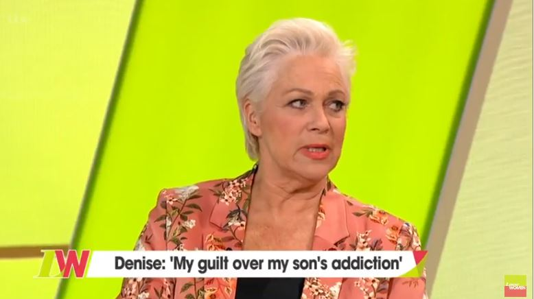 Denise Welch emotionally addresses son Matt Healy's drug addiction