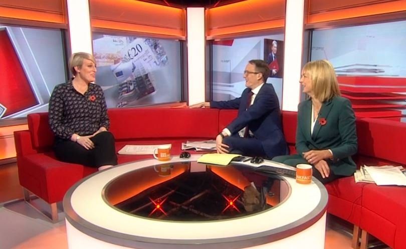 BBC Breakfast blooper after wind causes havoc with Steph McGovern's door prop