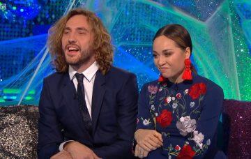Seann Walsh and Katya Jones (Credit: BBC)