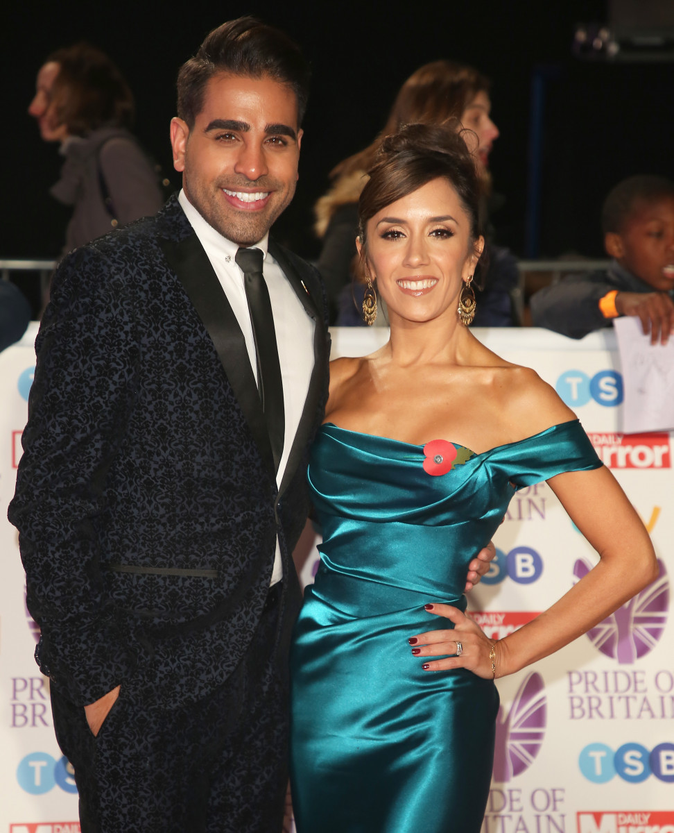 Dr Ranj and Janette Manrara, ride of Britain 2018, Grosvenor House Hotel, London UK, 29 October 2018, Photo by Brett D. Cove