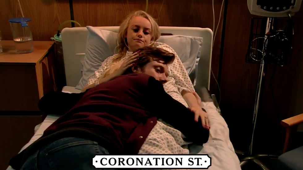 Sinead and Daniel Coronation Street ITV