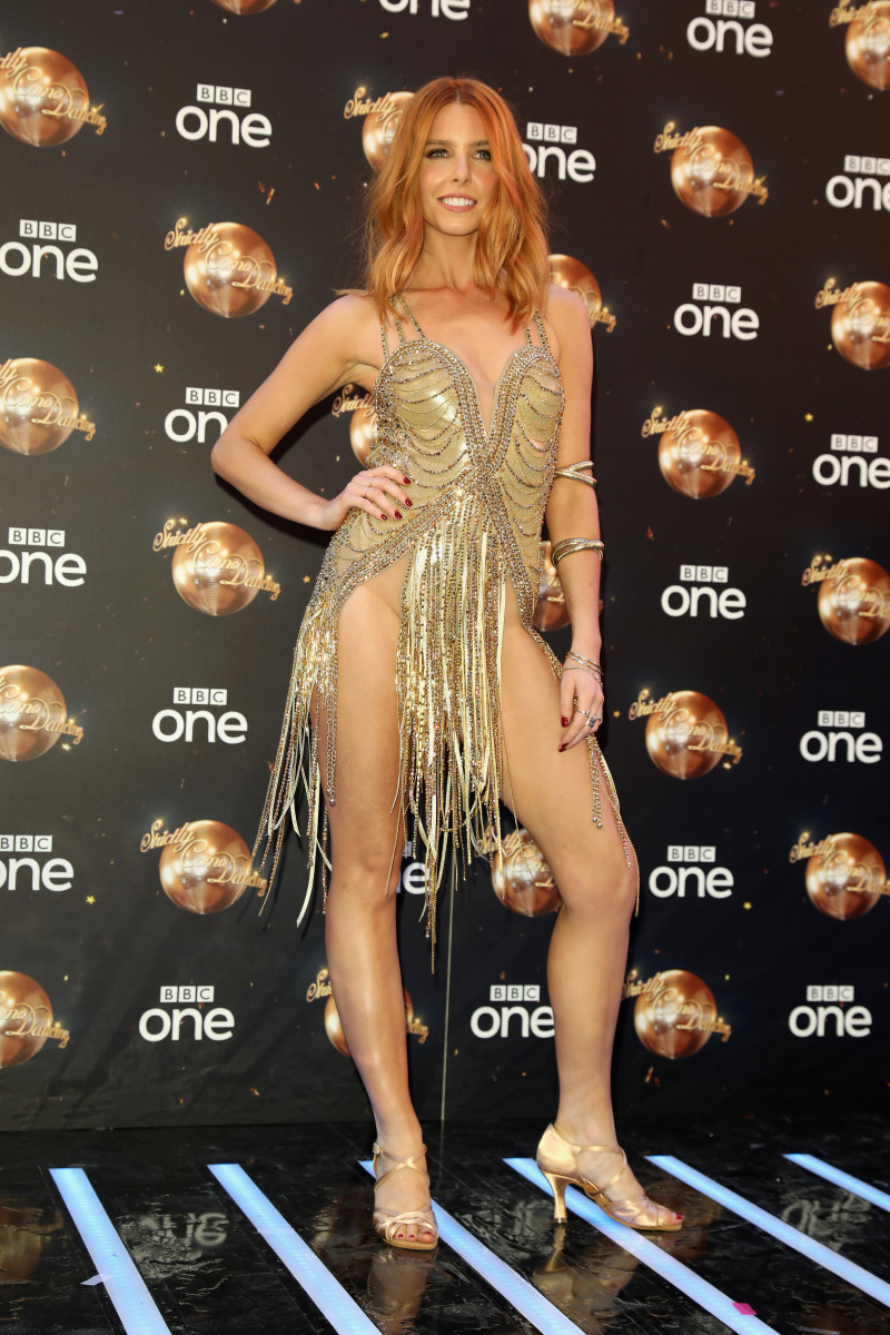 Stacey Dooley attends the red carpet launch for 'Strictly Come Dancing 2018'