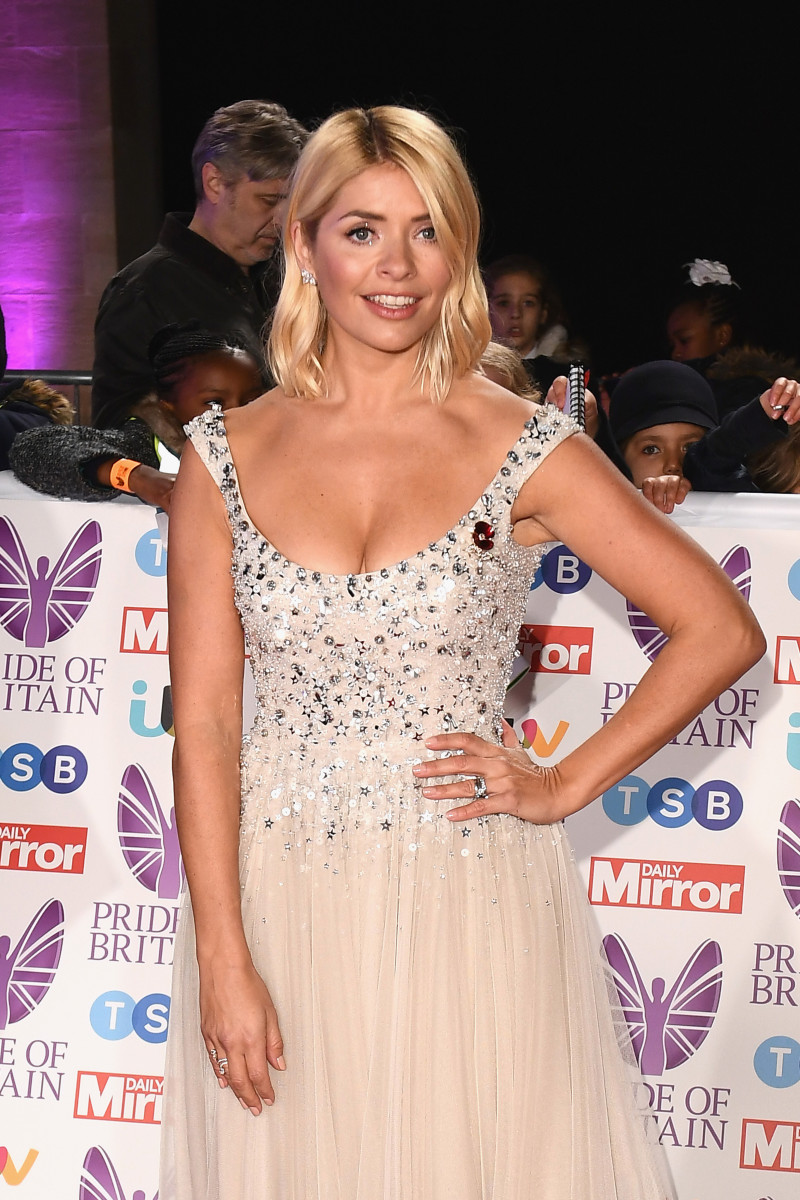Holly Willoughby attends the Pride of Britain Awards 2018