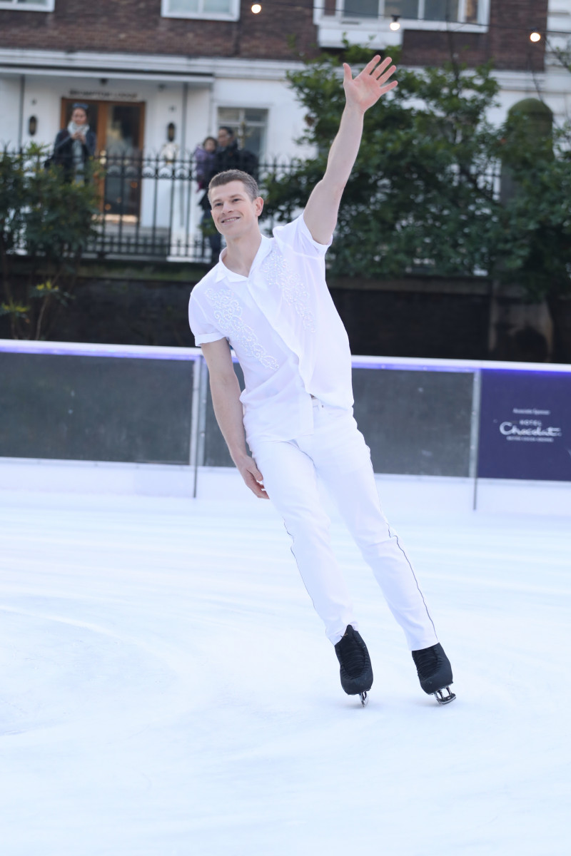 Hamish Gaman at the Dancing on Ice photocall held at the Natural History Museum