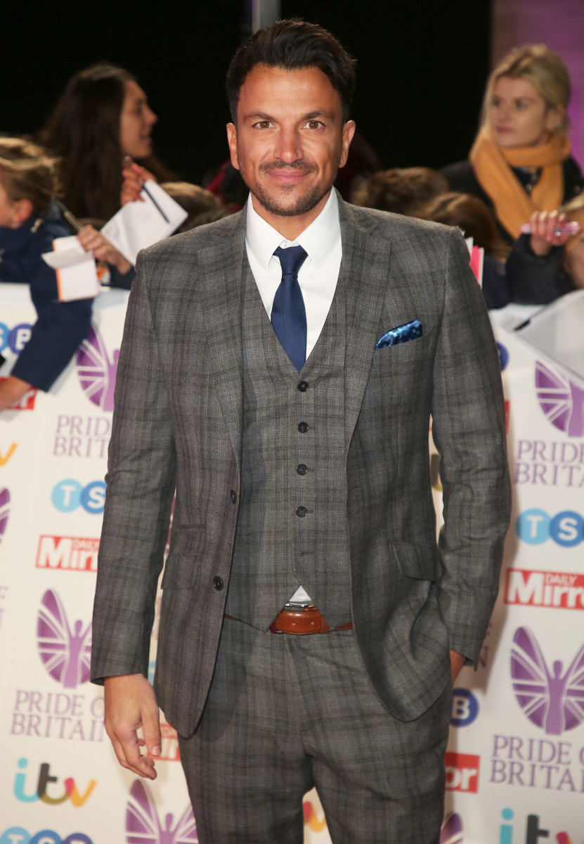 Peter Andre, Pride of Britain 2018, Grosvenor House Hotel, London UK, 29 October 2018, Photo by Brett D. Cove