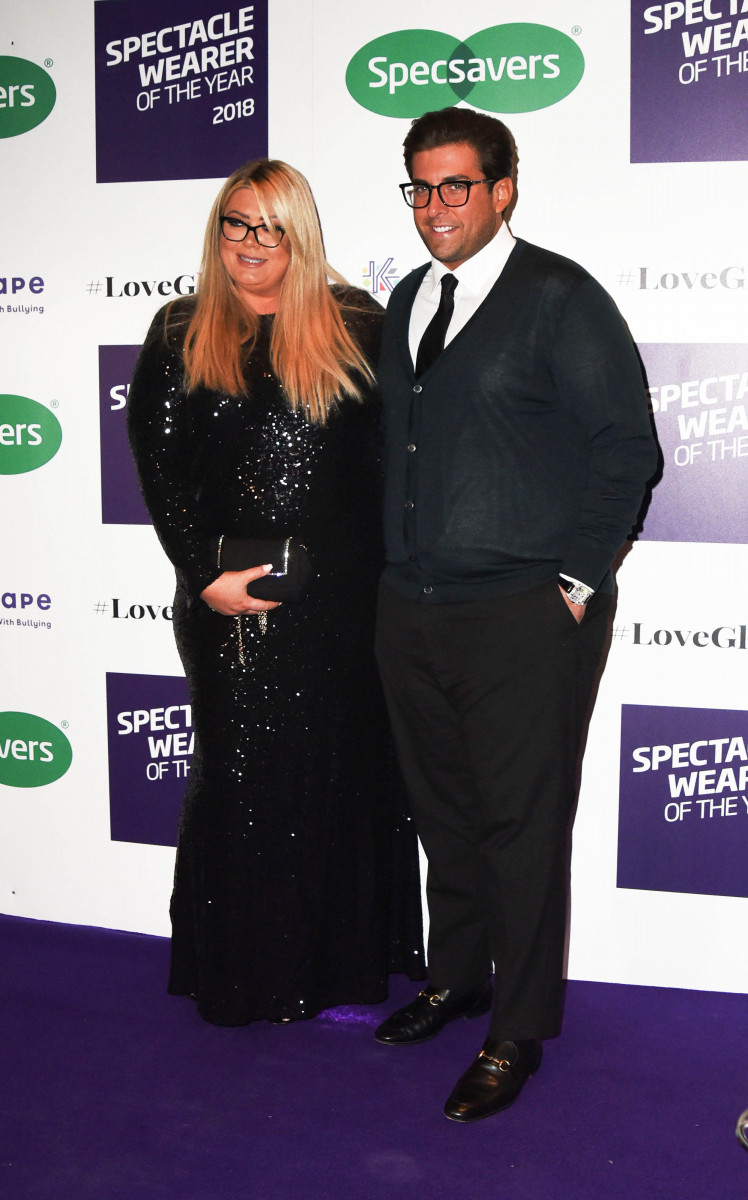 James Argent and Gemma Collins, Celebrities Attending The Spectacle Wearer of the Year Awards In London