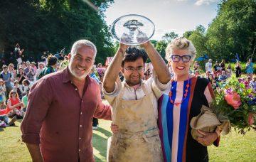 Rahul wins Great British Bake Off